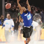 Michael B. Jordan & John Legend Compete In DirecTV Celebrity Beach Bowl