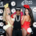 Nelly Attends & Takes Center Stage @ Playboy Super Bowl Party In NYC